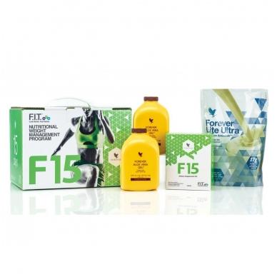 F15 Pradedantiems rinkinys su Lite Ultra Vanilla